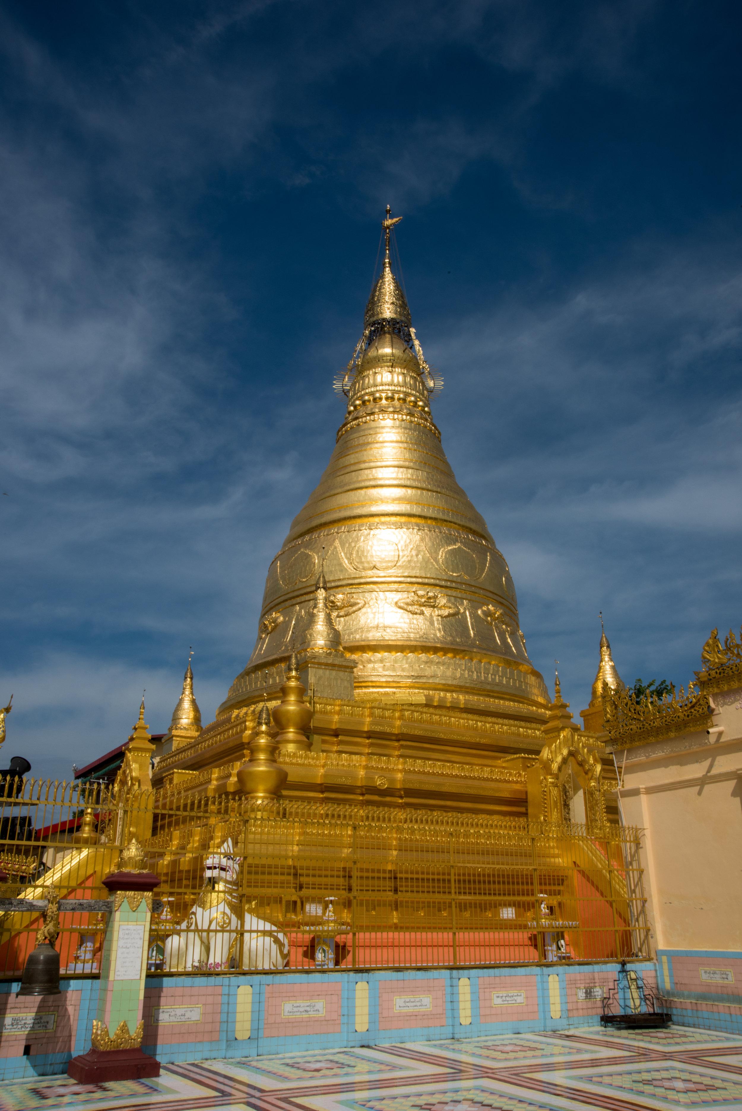 Soon U Ponya Shin Pagoda, Sagaing Hills, Mandalay, Myanmar