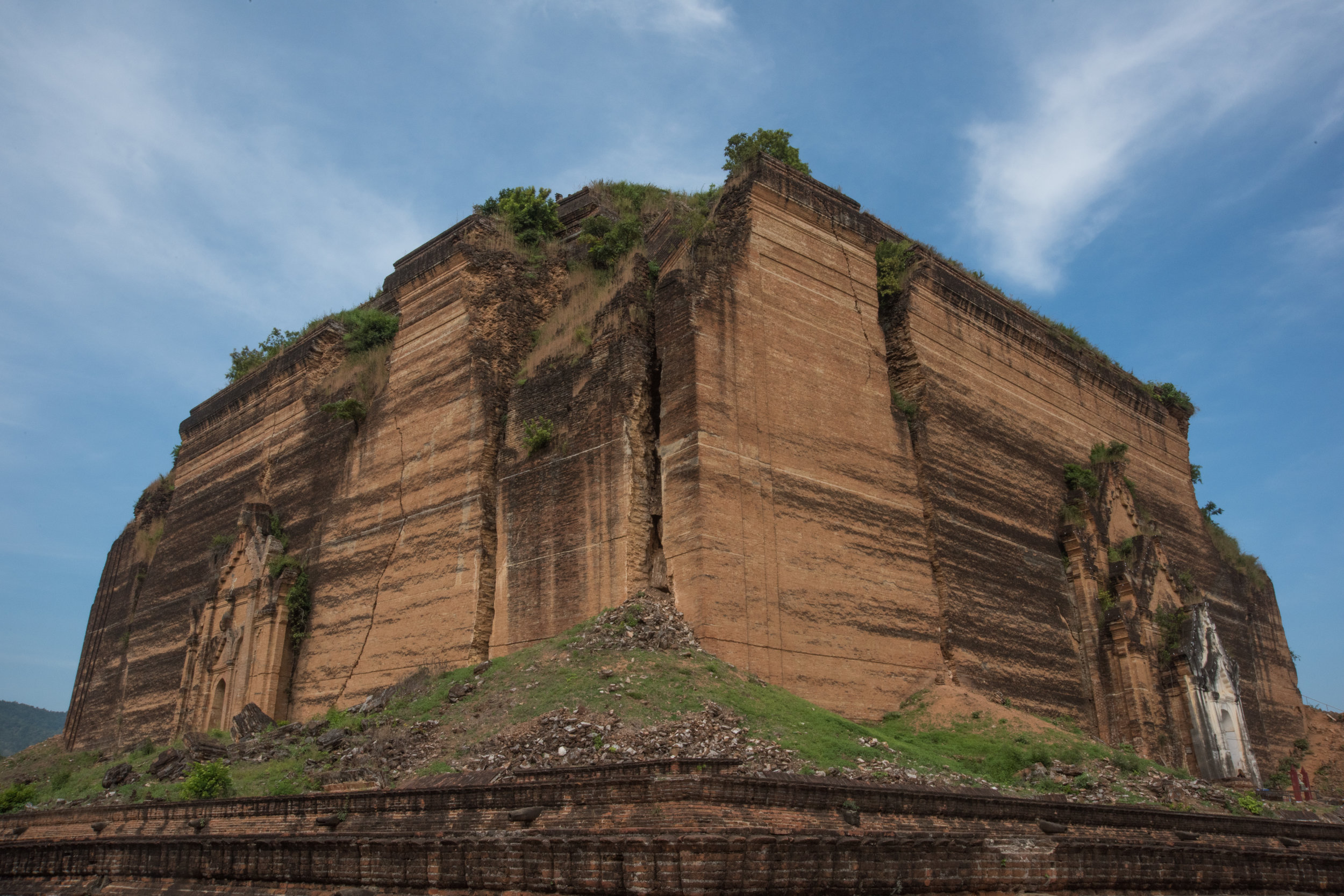 Unfinished Pagoda, Mingun, Myanmar