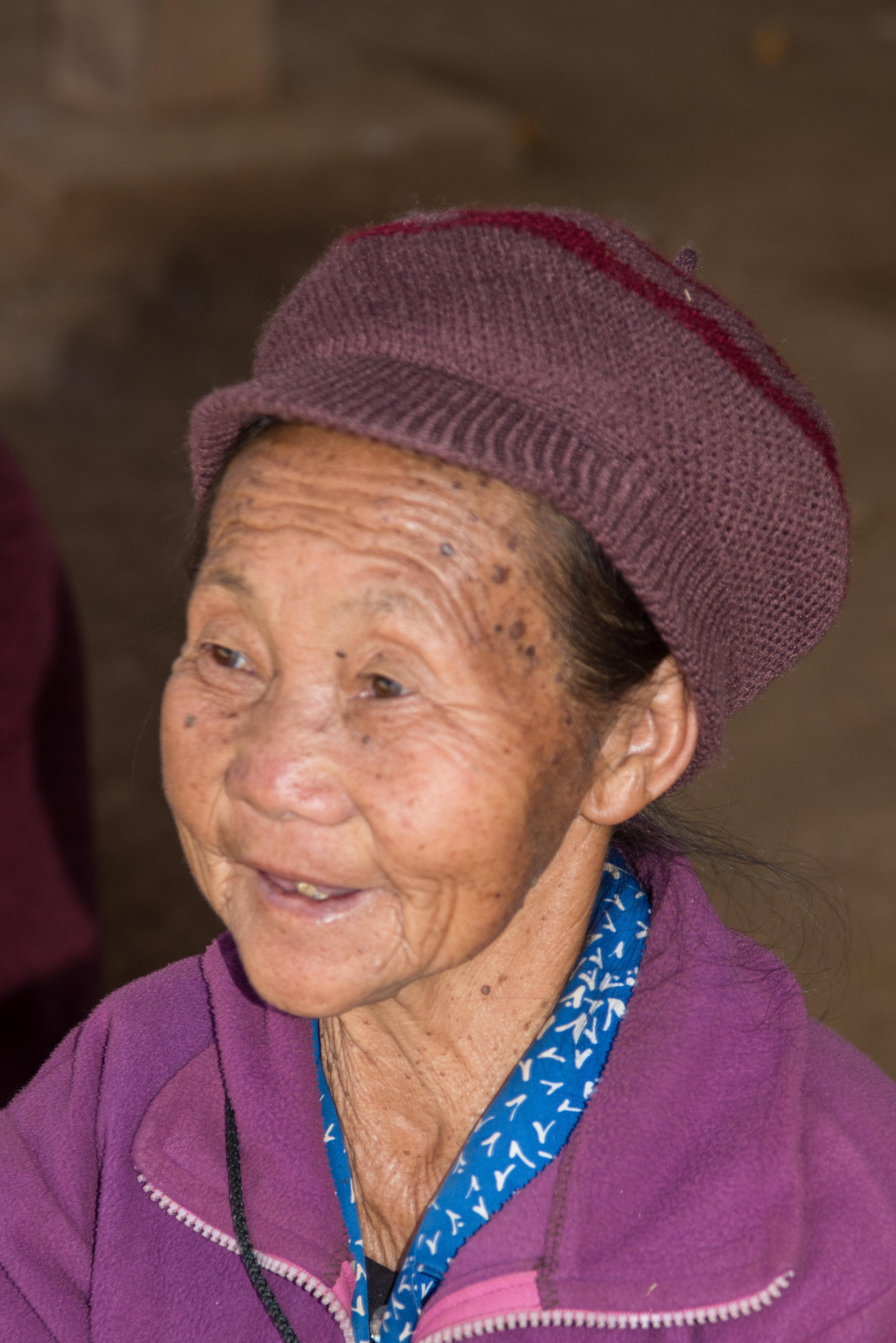Woman, Ban Phajao, Laos