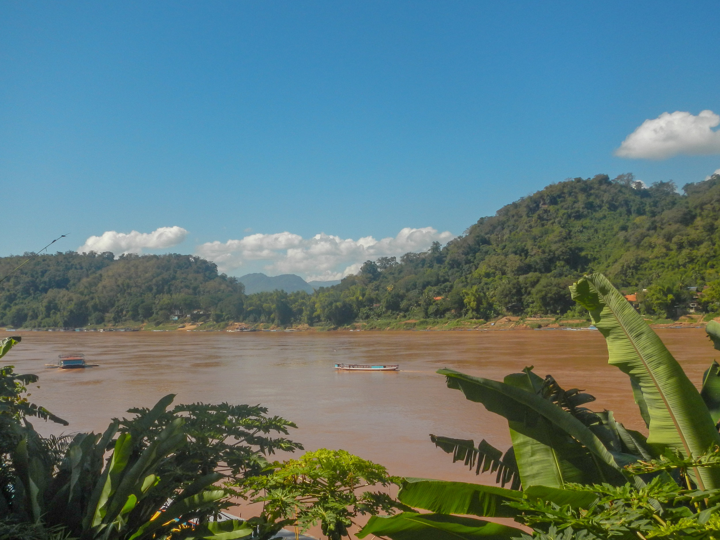 Mekong River, KhemKhong, Luang Prabang, Laos