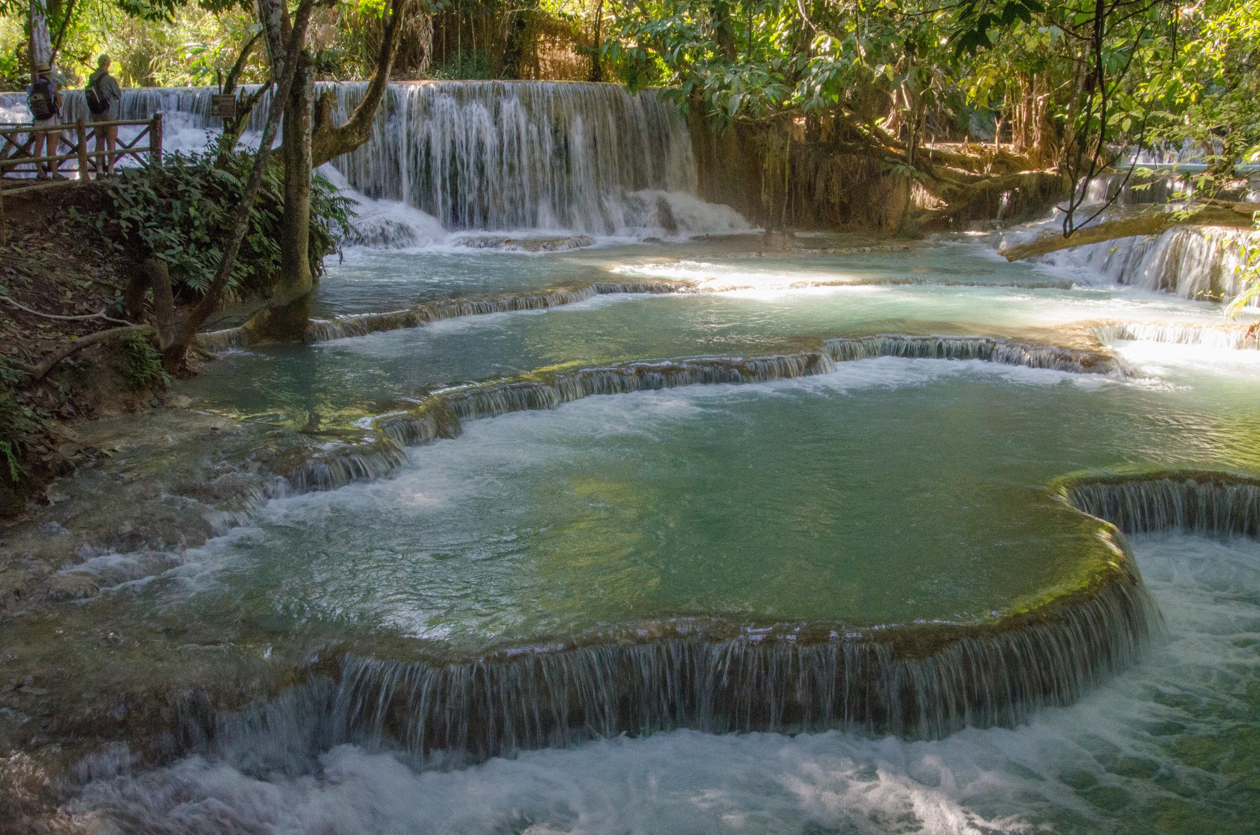 Tat Kouang Si Waterfalls, Luang Prabang, Laos