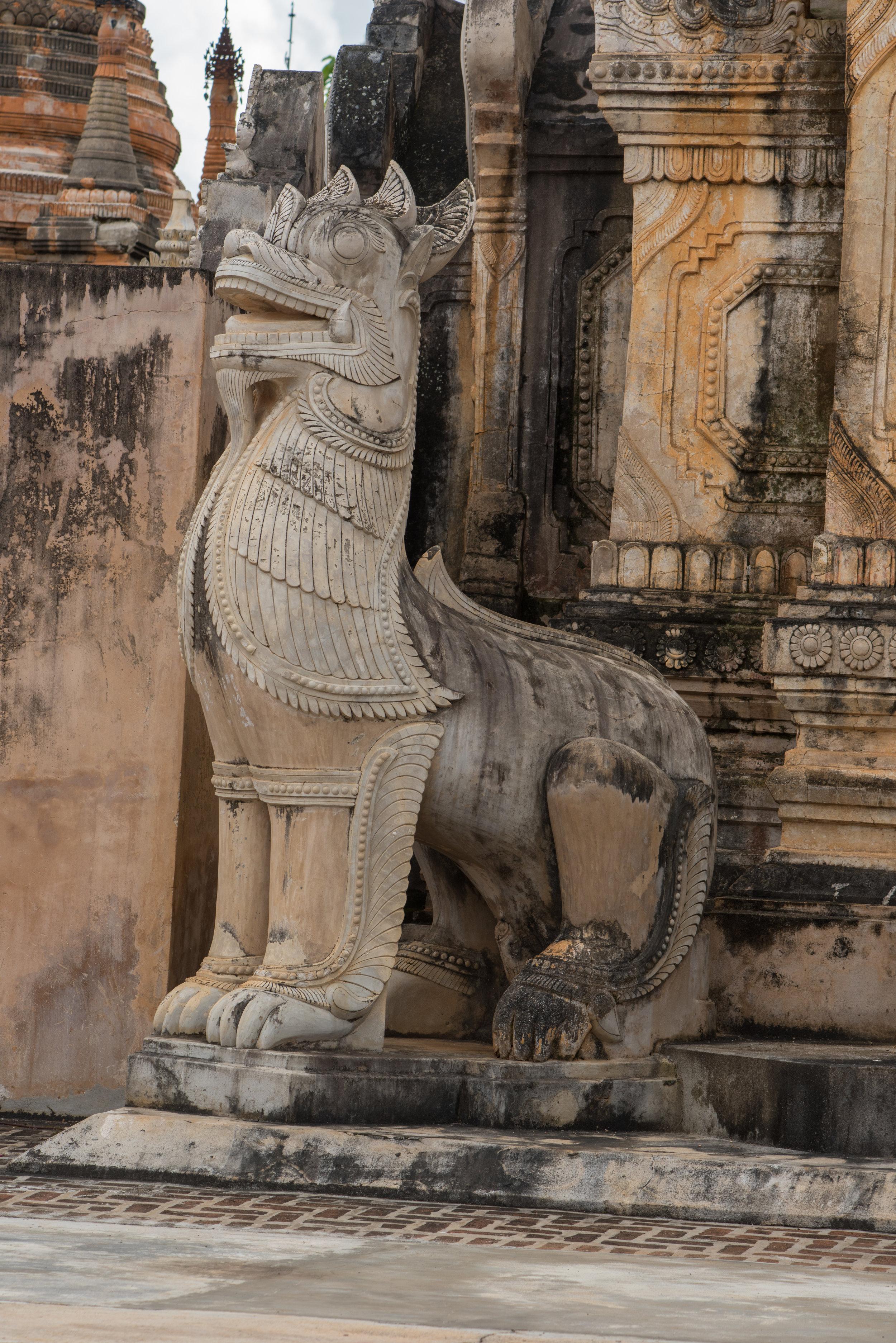 Tharkong Pagoda, Inle Lake, Myanmar