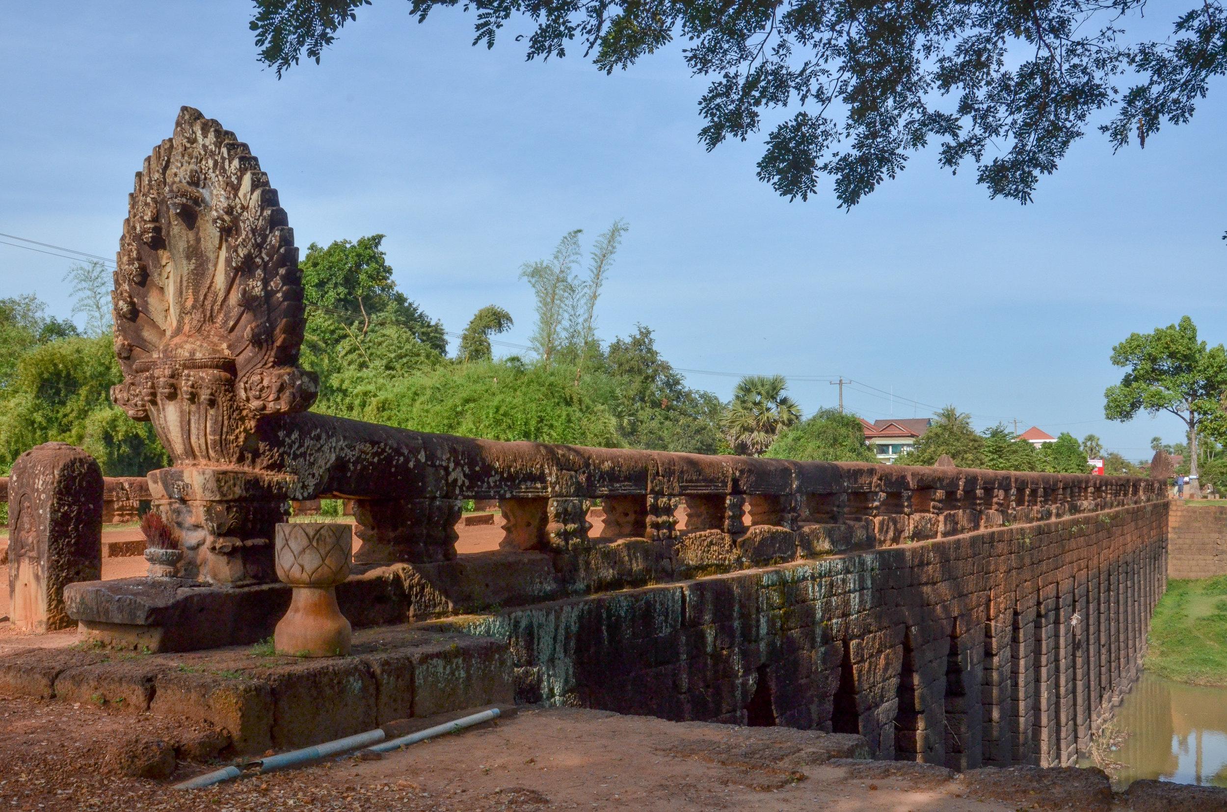 King Jayavarman VII's Bridge, Kompong Thom, Cambodia
