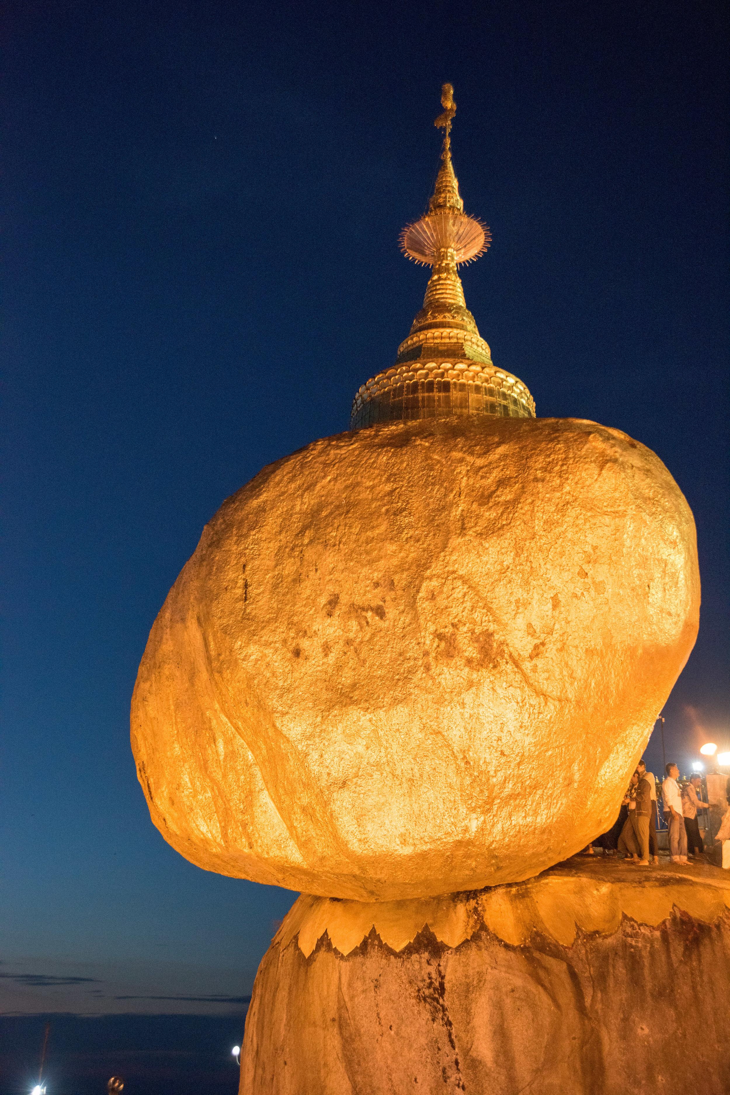 Golden Rock Pagoda, Kyiakhtiyo, Myanmar