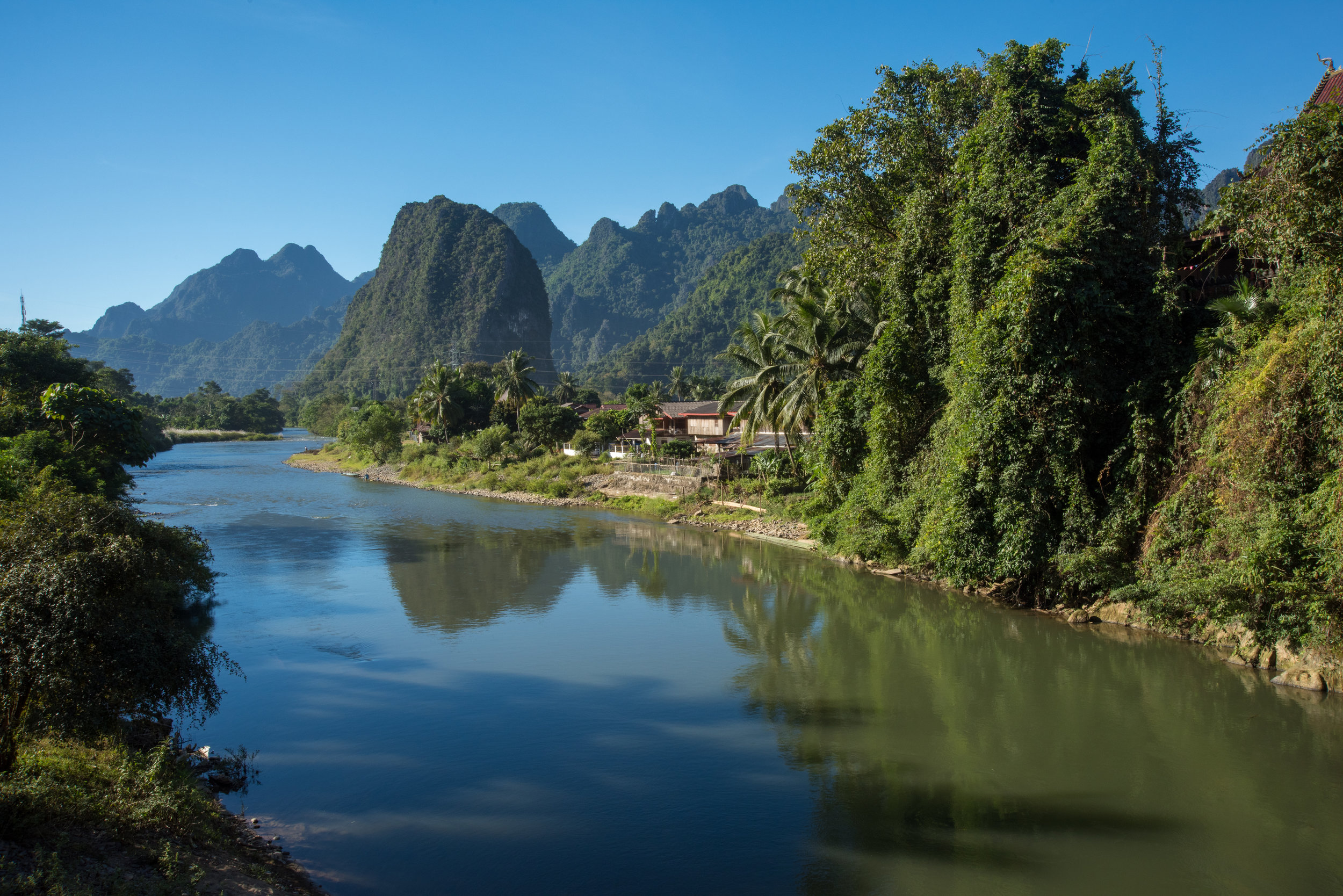 River, Nam Song, Laos