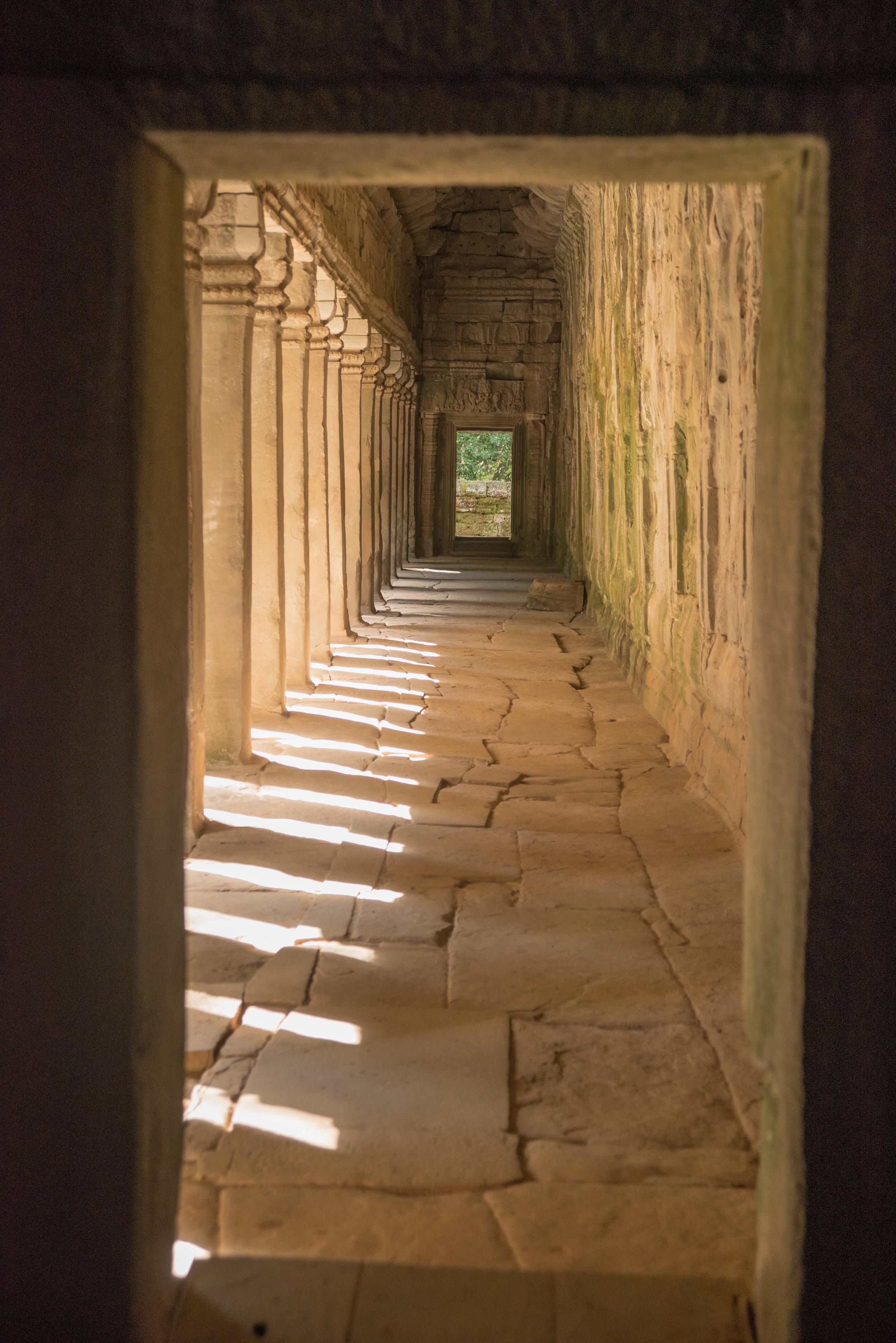 Gallery, Ta Prohm Temple, Siem Reap, Cambodia