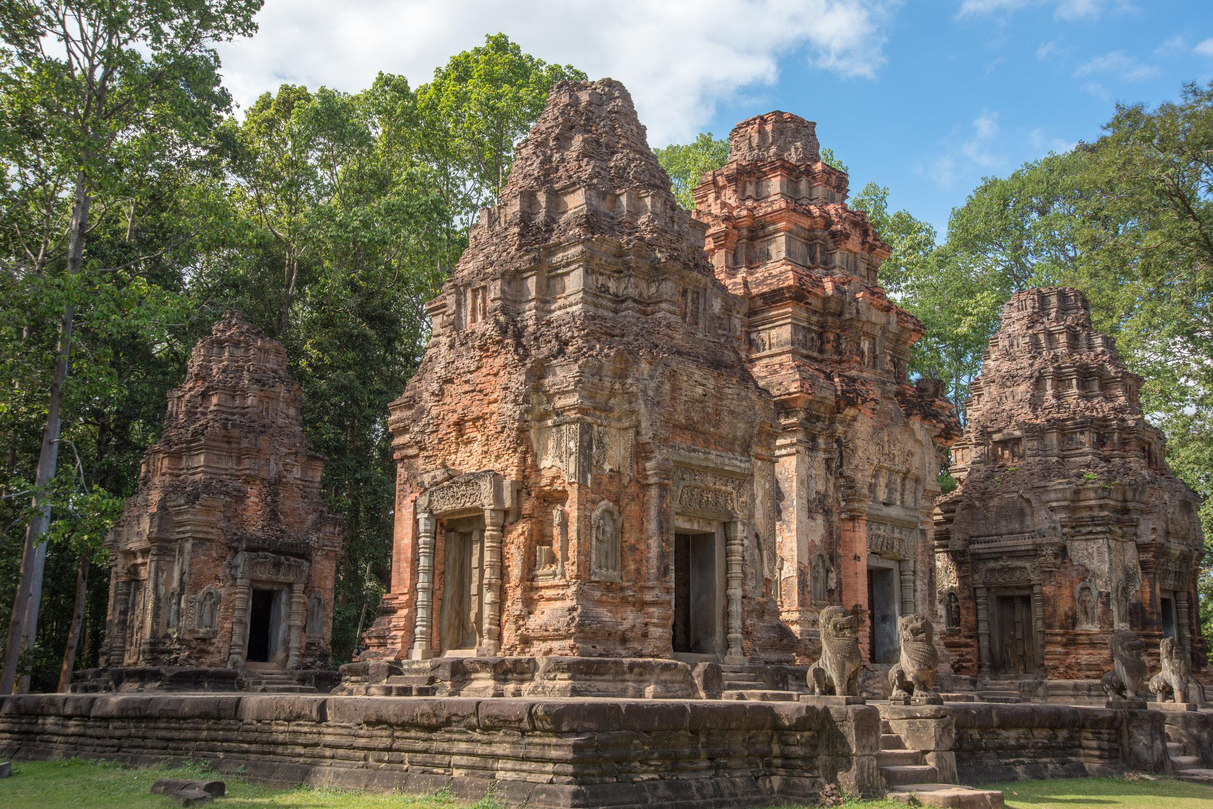 Preah Ko Temple, Siem Reap, Cambodia