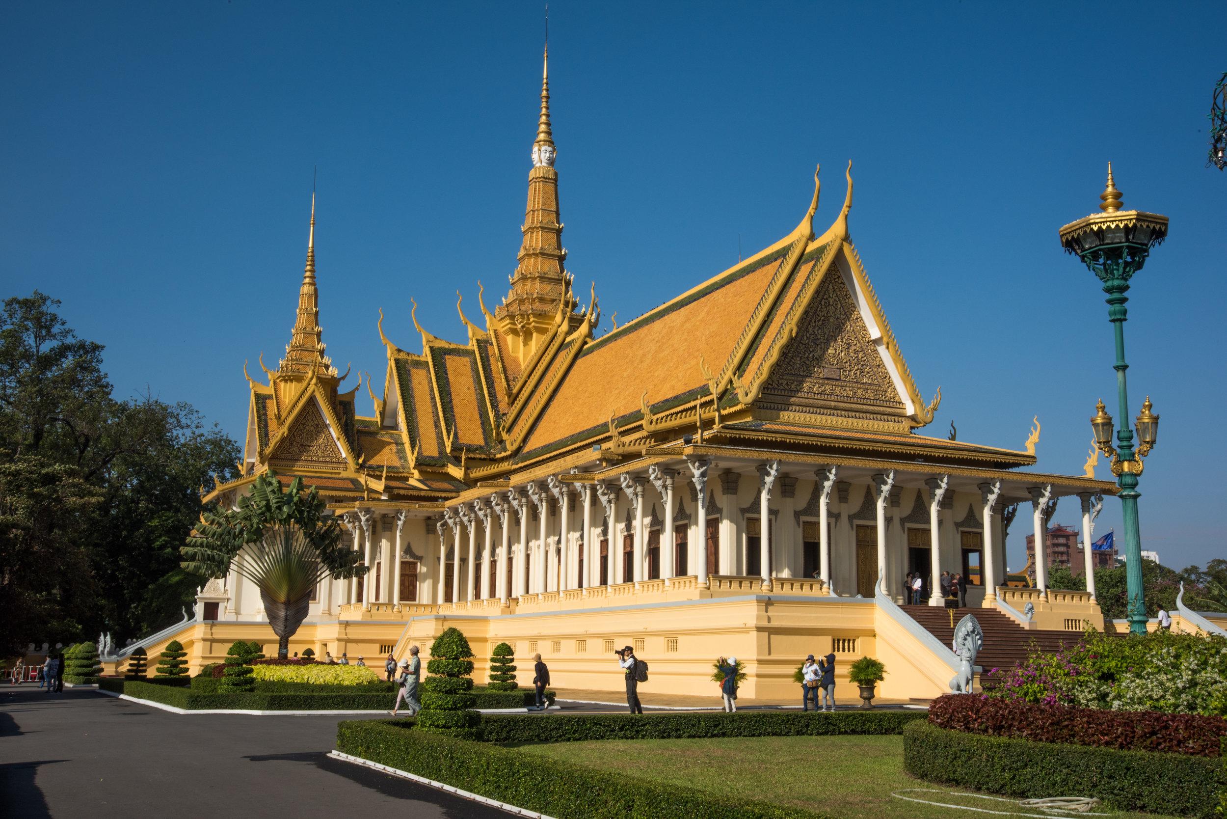 Throne Hall of Royal Palace, Phnom Penh, Cambodia
