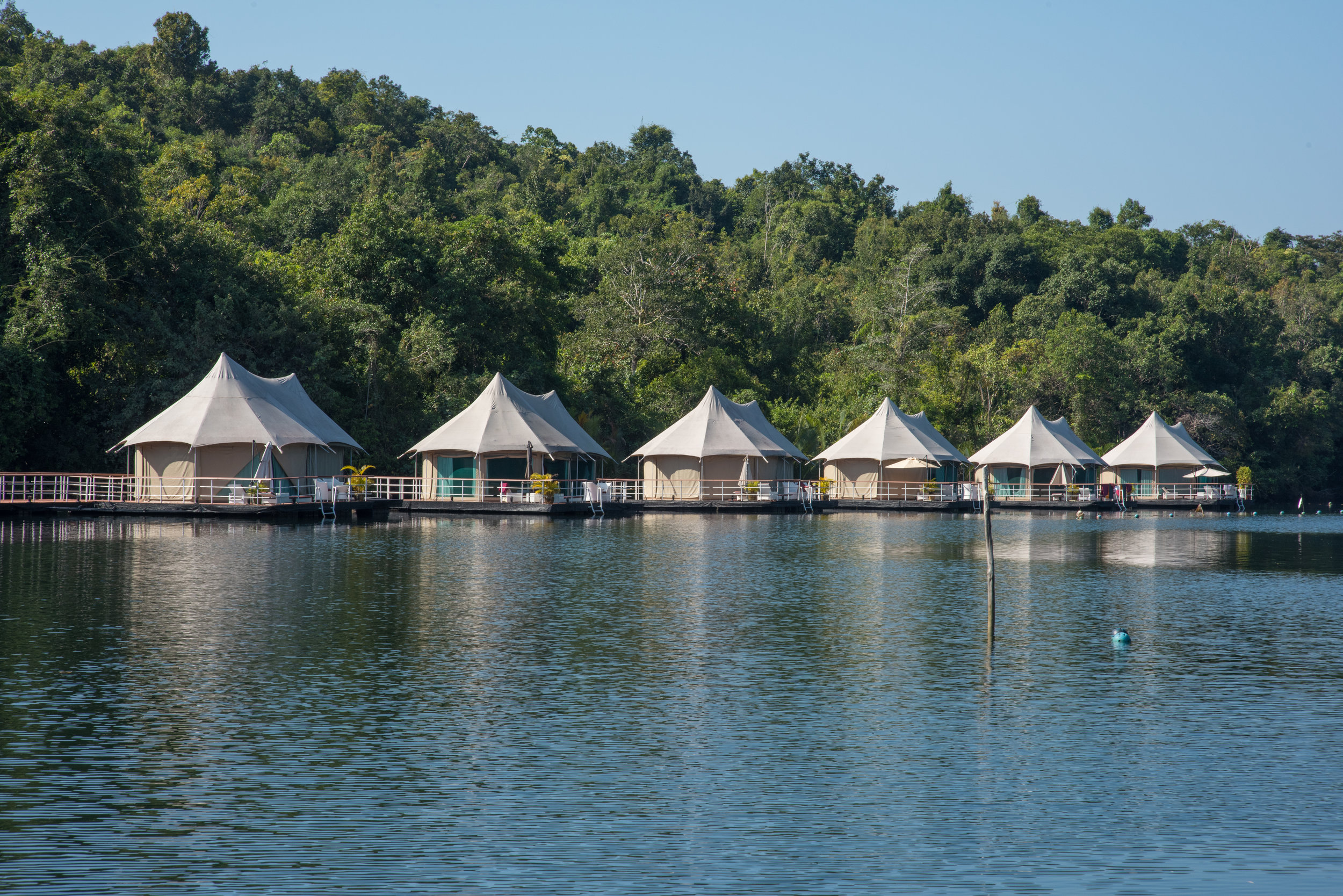 Four Rivers Floating Lodge, Cardamom Mountains, Cambodia