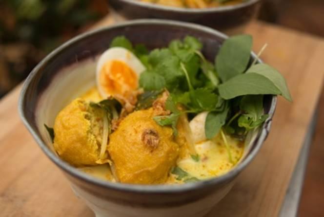 Penang Laksa - a traditional dish from Malaysia's Penang region