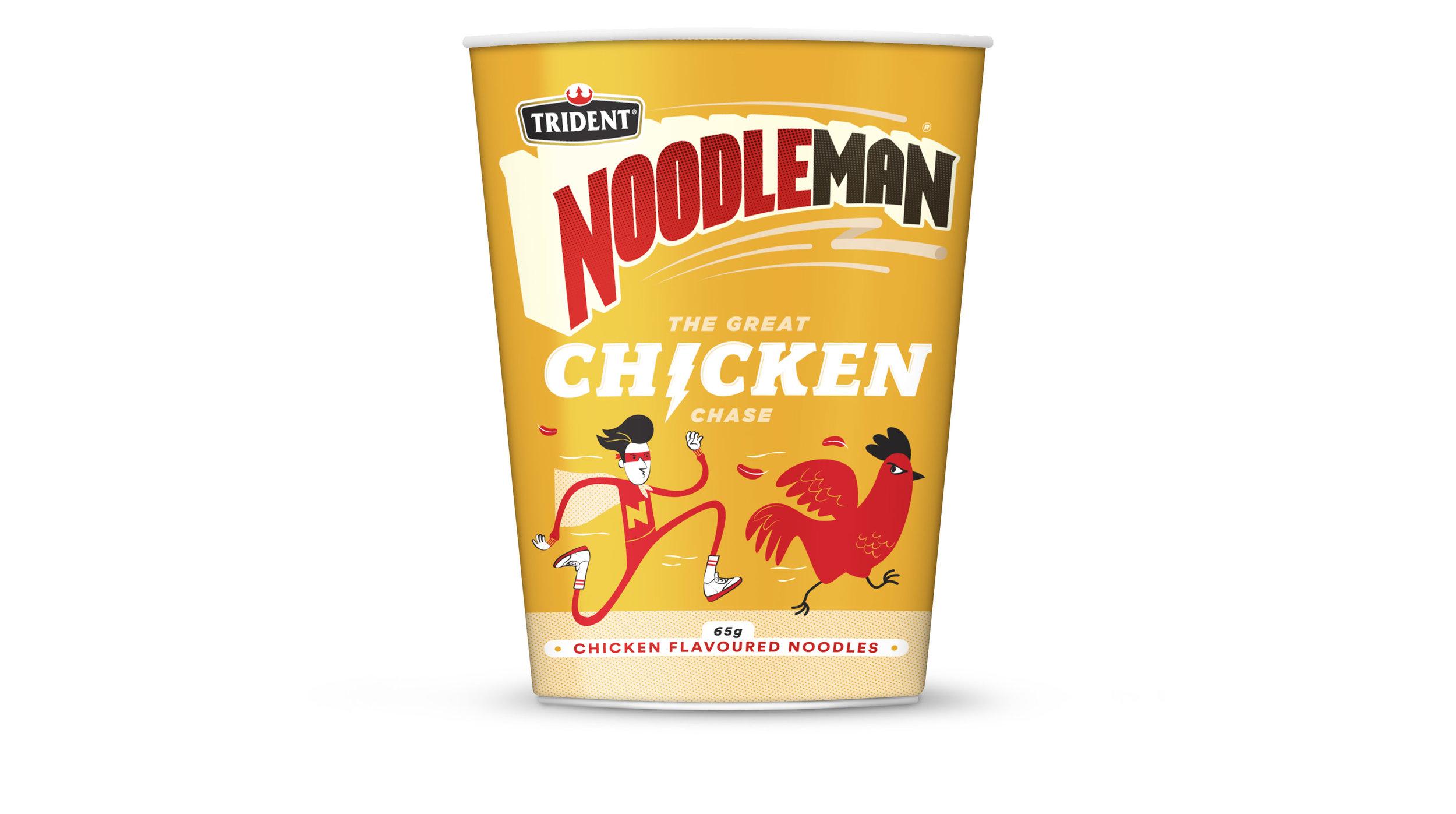 Noodleman Chicken Noodle Cup