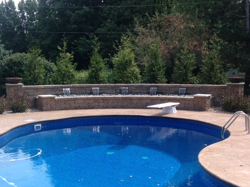 Pool Patio Landscaping