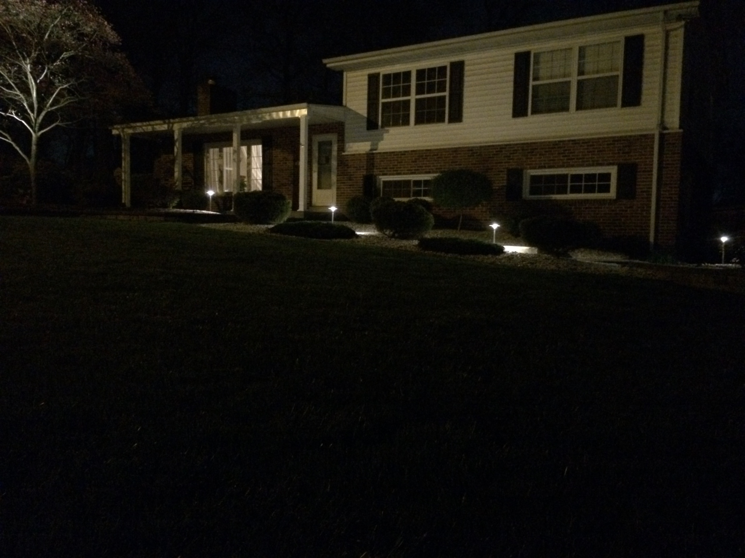 Landscape Lighting House Accent