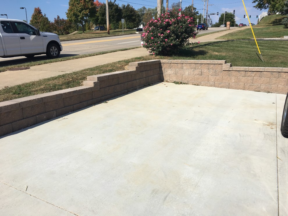 Barb's retaining wall