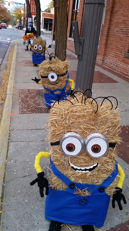 2015 Scarecrow Contest Entry 25 Minions 4th Annual.jpg