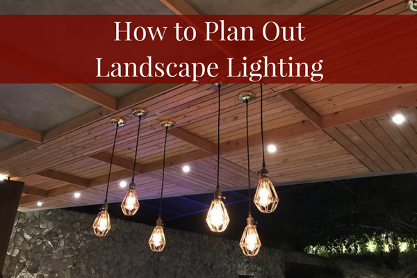 How To Plan Landscape Lighting For Your Yard Hackmann Lawn Landscape