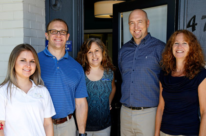 North Area Physical Therapy Staff