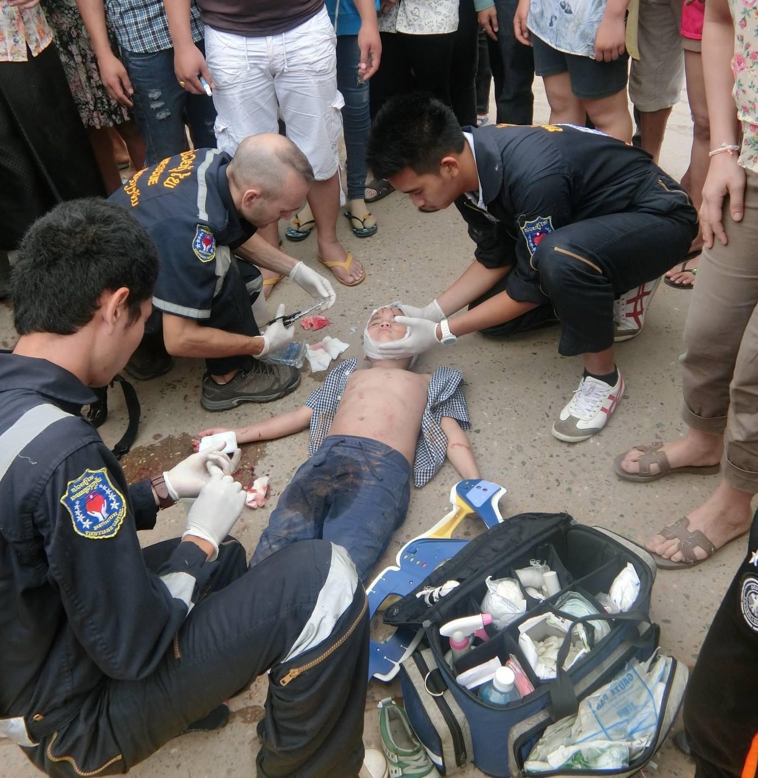 Photo Credit:Vientiane Rescue