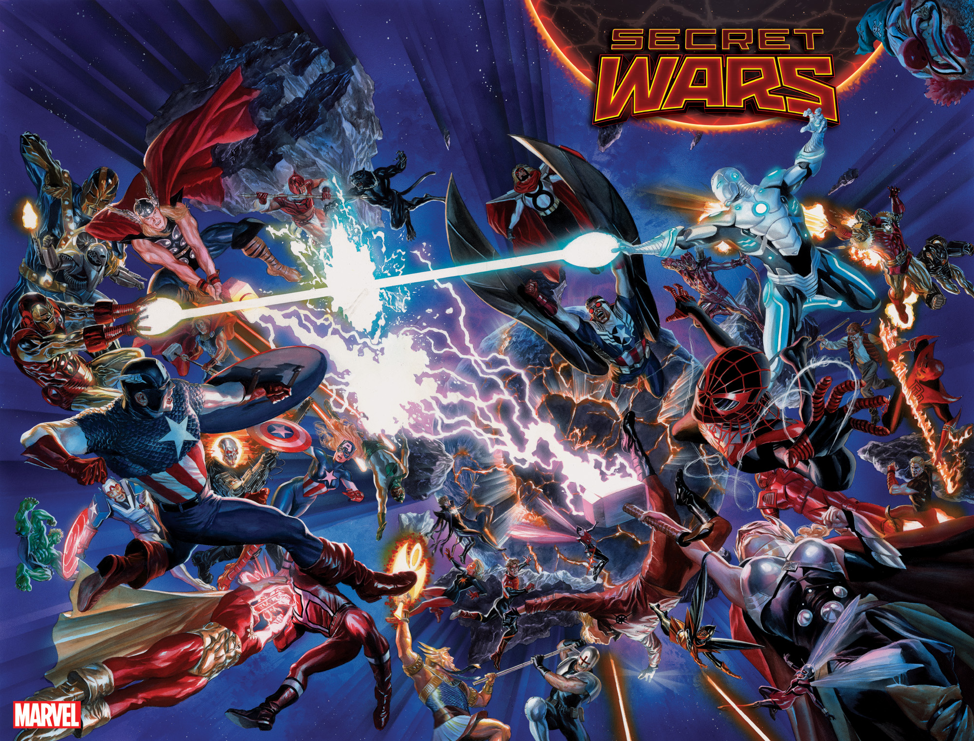 Secret Wars #1, Marvel Comics