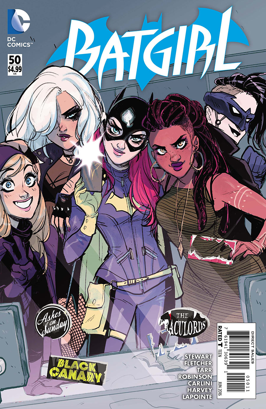 Batgirl #50 Cover by Babs Tarr