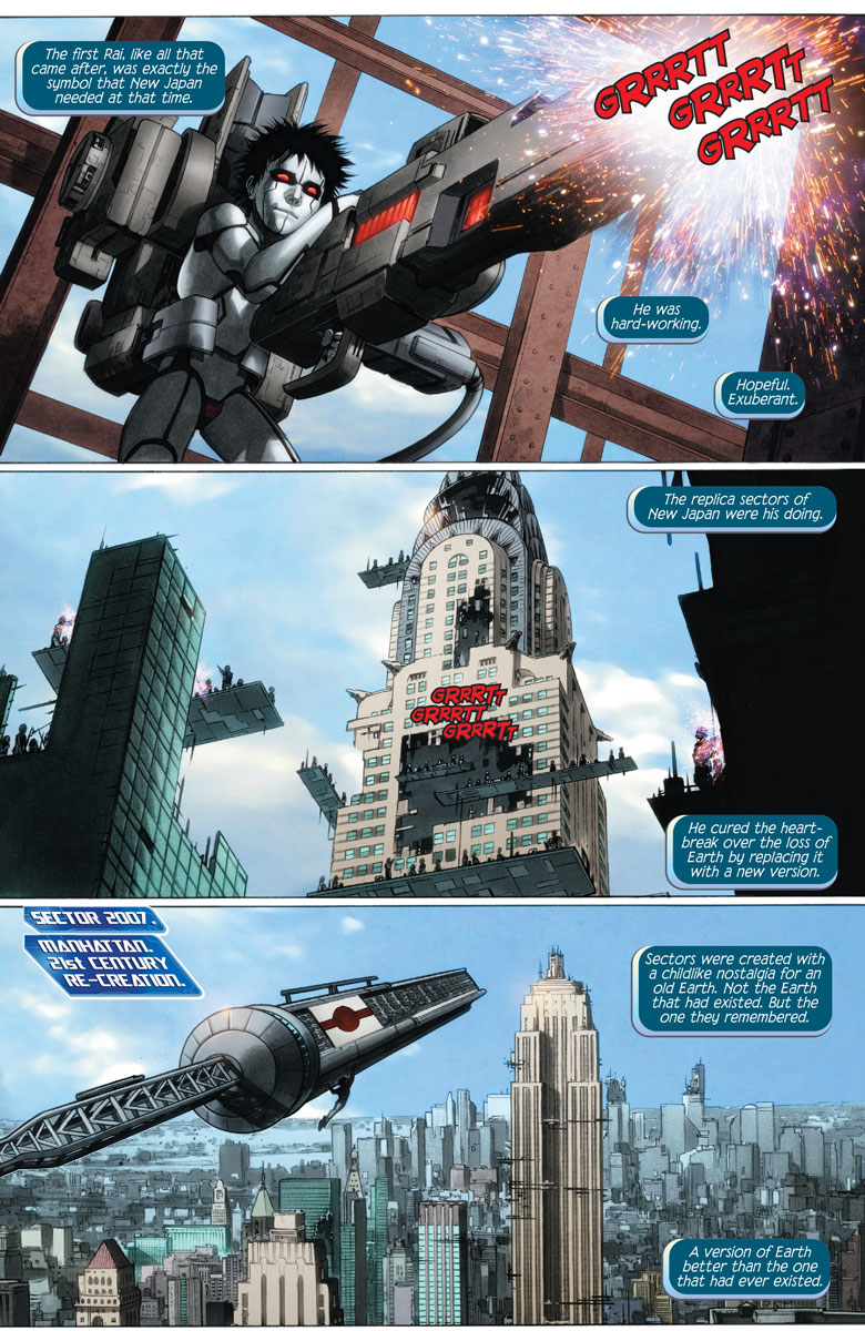 Preview page from RAI #13 (Courtesy of Valiant Entertainment)