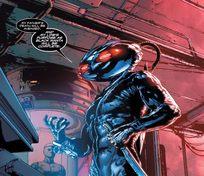 Daddy issues aside, Kaldur'ahm has always been one of my favorite DC characters.