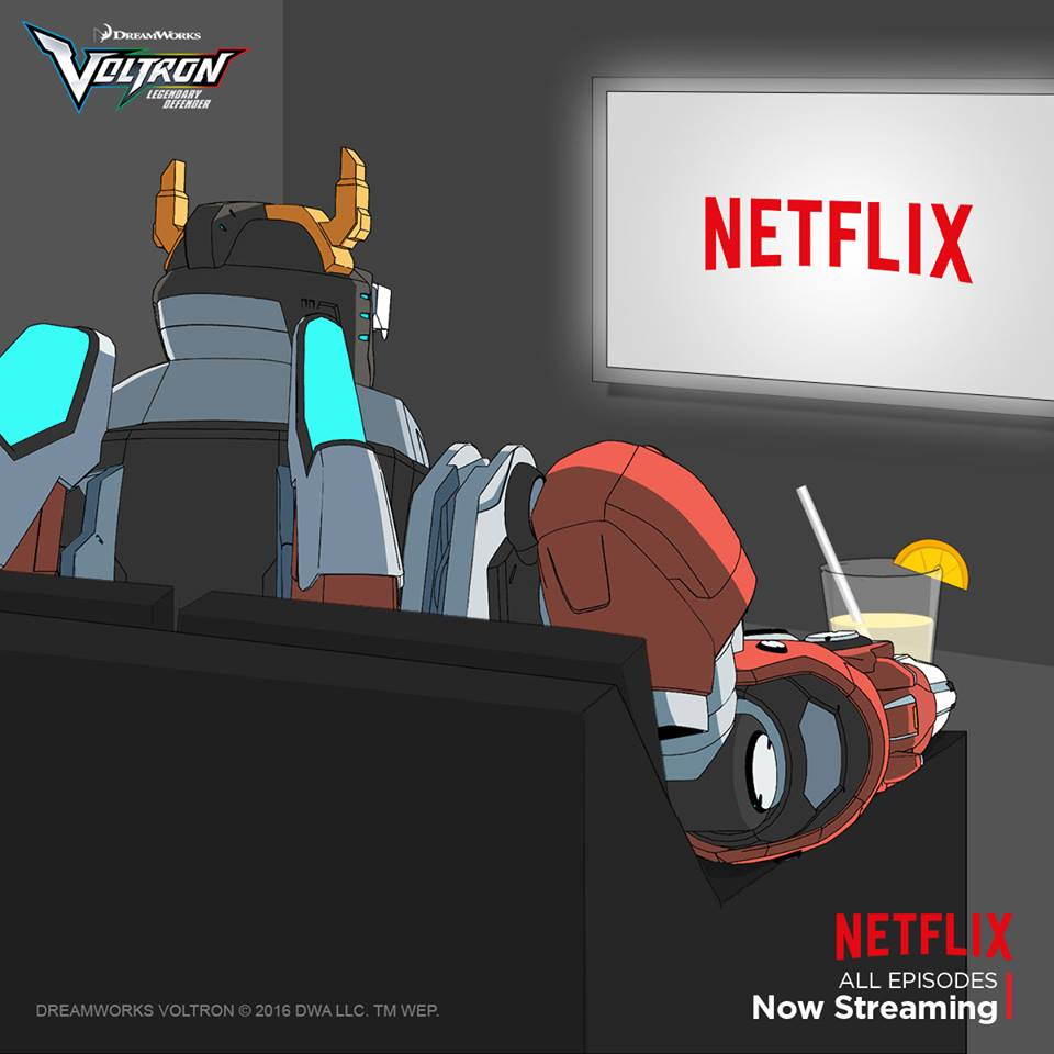 Voltron and chill.