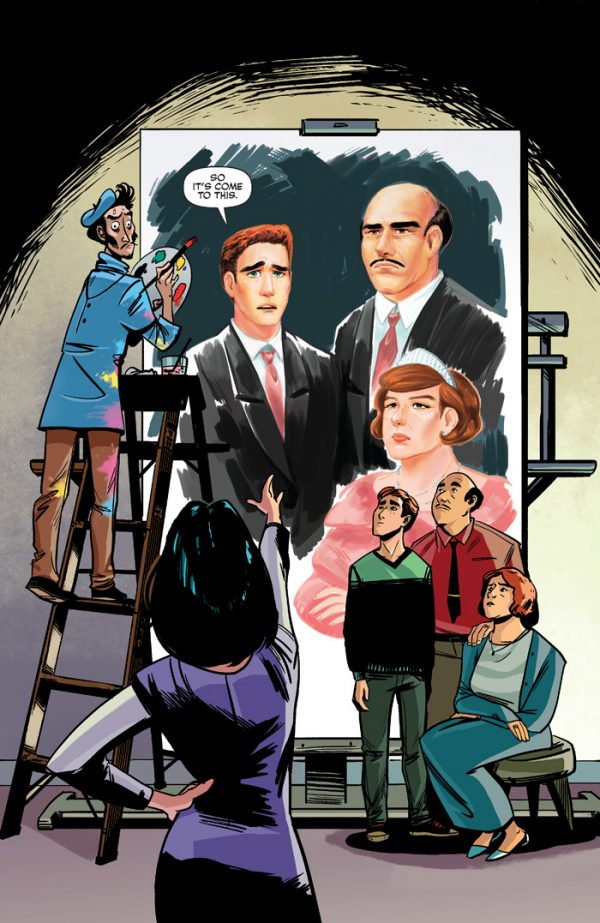 This is not the teaser image, just some wonderful art from Archie #9
