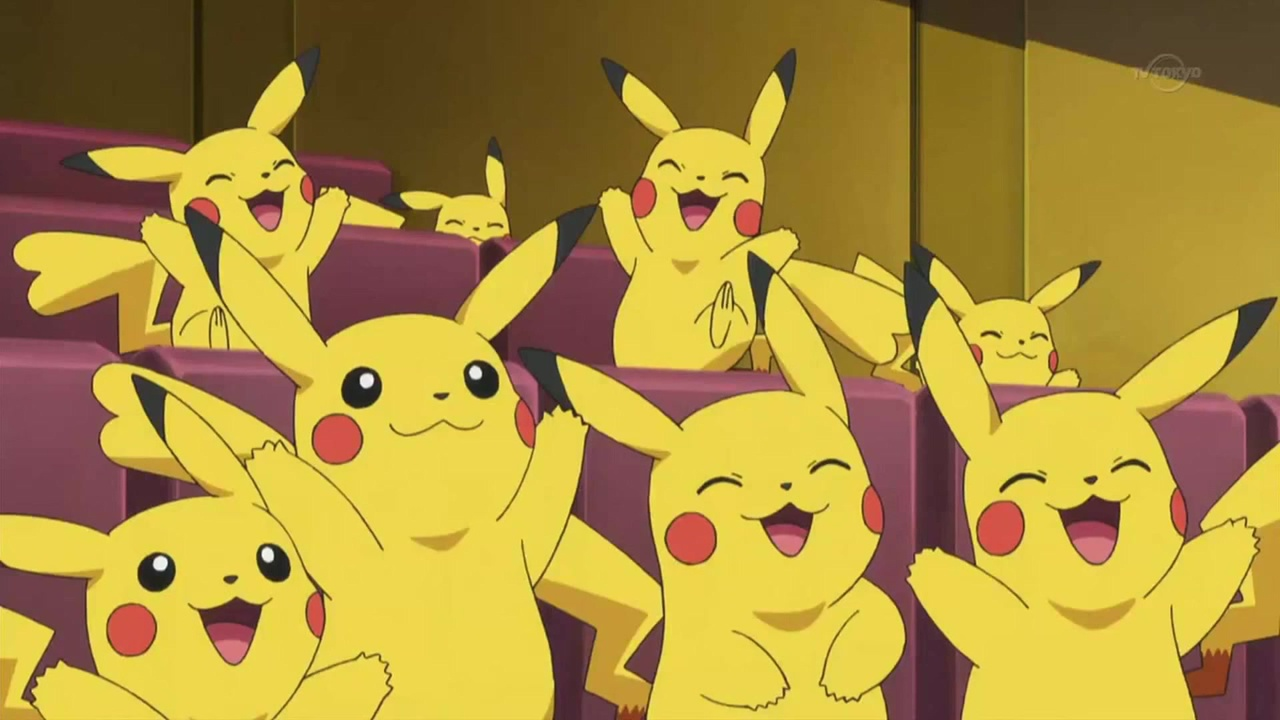 Almost literally more Pikachus than are in Pokemon Go.