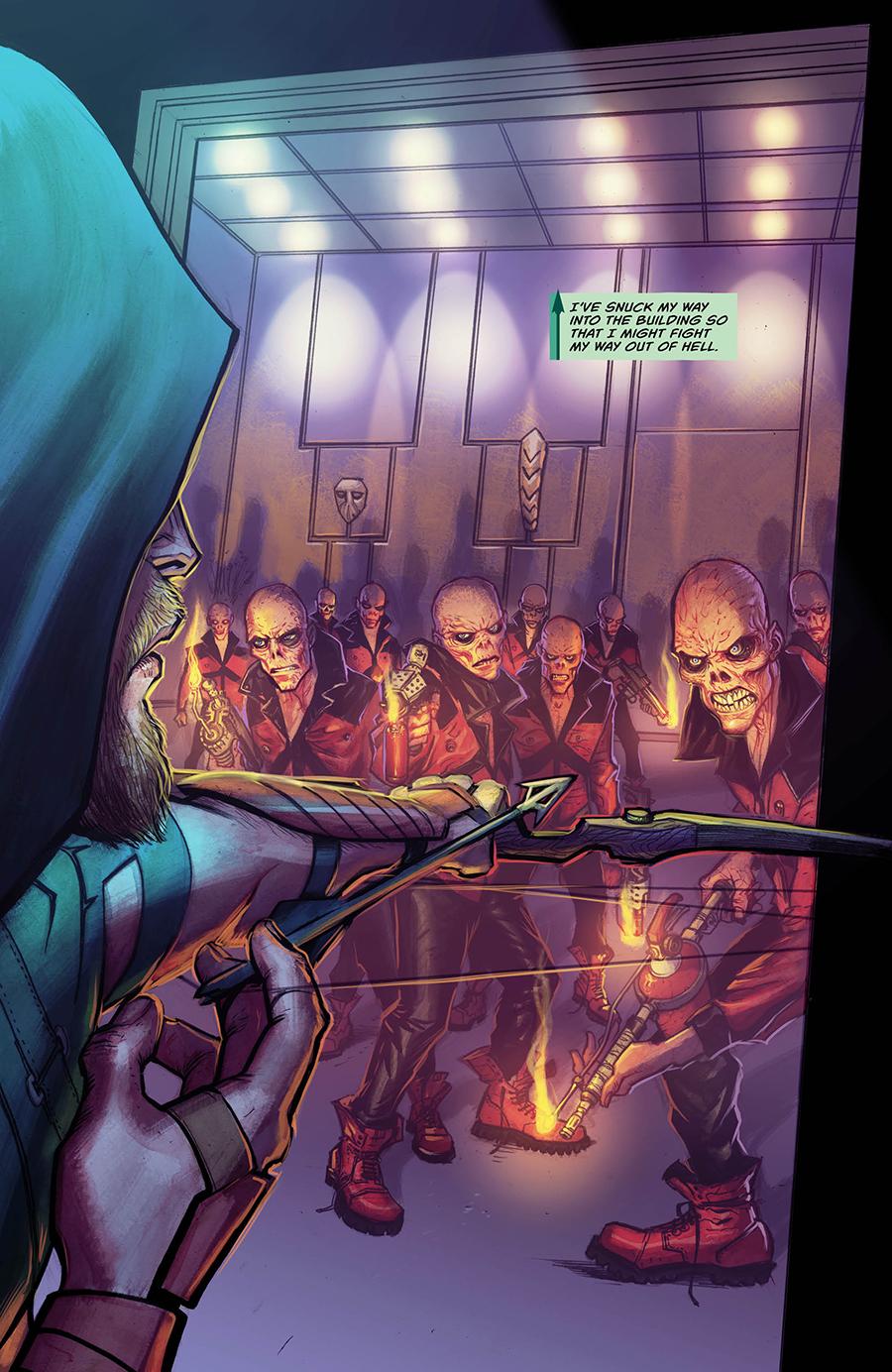 From Green Arrow #3, DC Comics