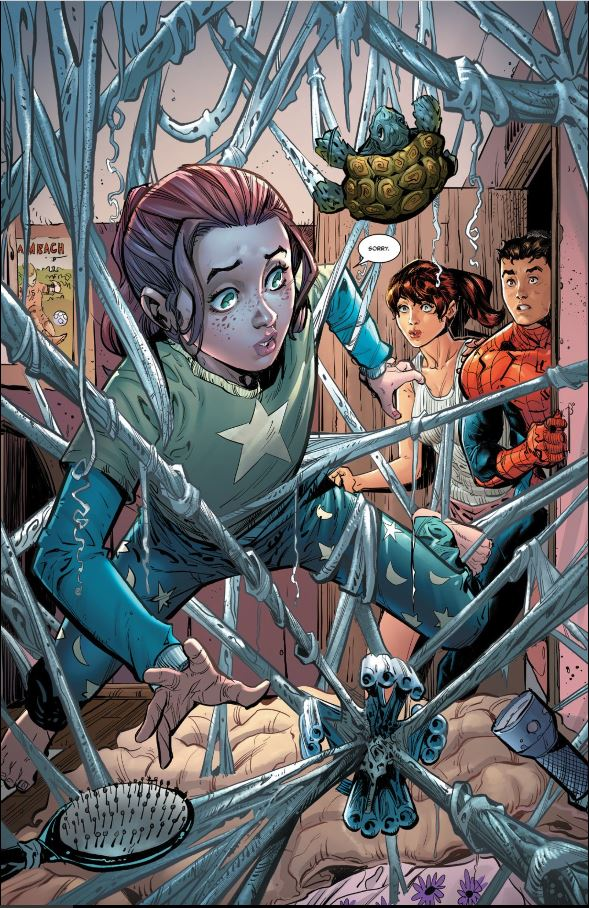 If I had a nickle everytime my child got into my webslinger... I wouldn't have any nickles...