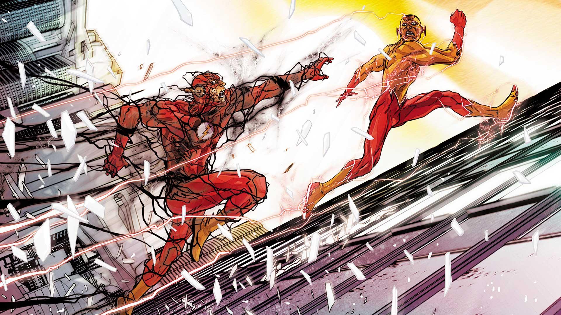 Flash #12 cover by Carmine Di Giandomenico