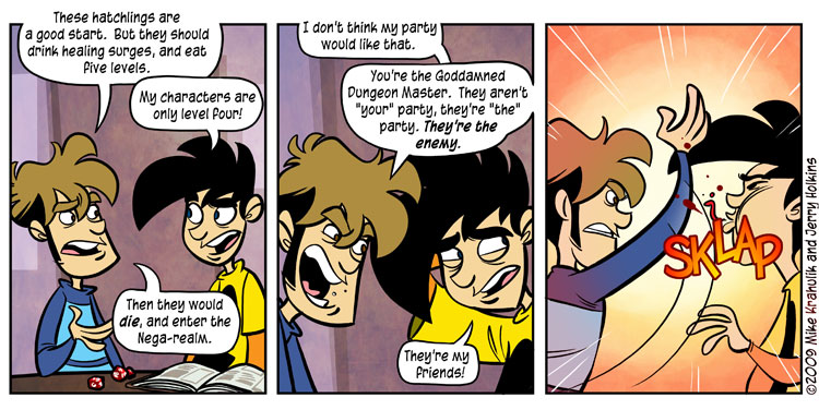 'Penny Arcade' courtesy of Jerry Holkins and Mike Krahulik