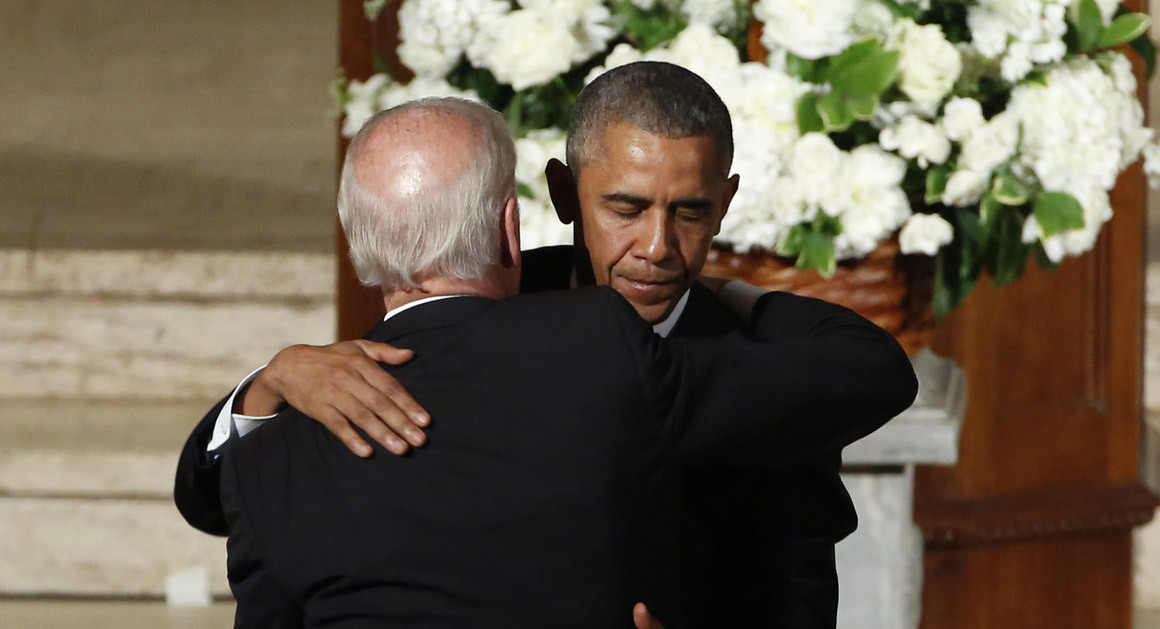 Biden: Forgive the insubordination, but your boyfriend has an order for you --come back alive.