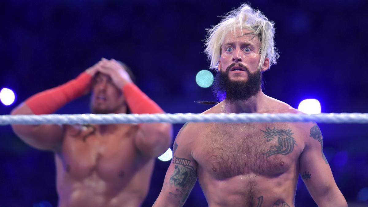 #EnzoFace when the Hardyz show up, image via WWE.com