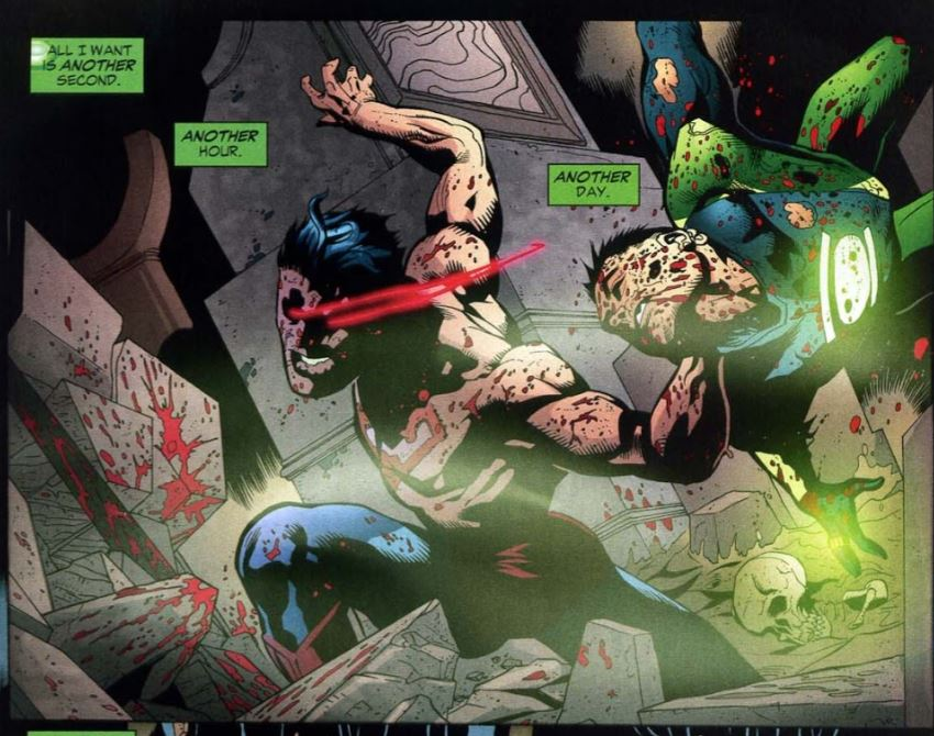 Man I miss Superboy (man) Prime. He was a great bad guy.