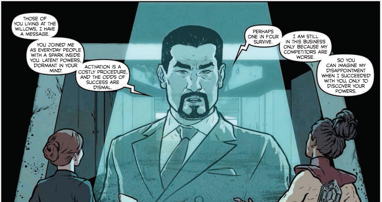 Xavier looks different.