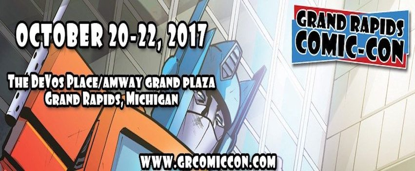 Visit grcomiccon.com to get tickets NOW!