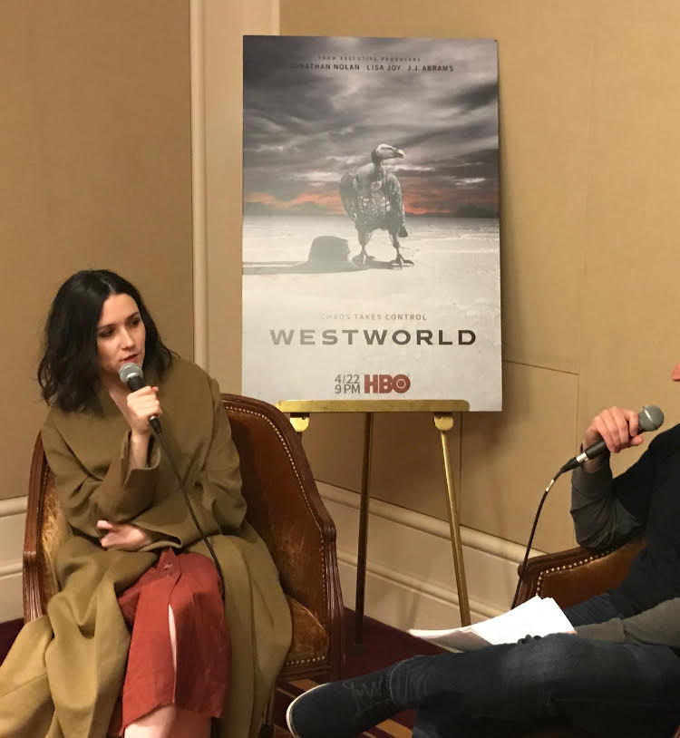 Shannon Woodward discusses Elsie's fate in Westworld season 1.
