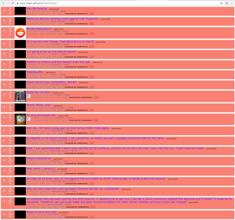Screenshot captured by /u/secretlives on Reddit