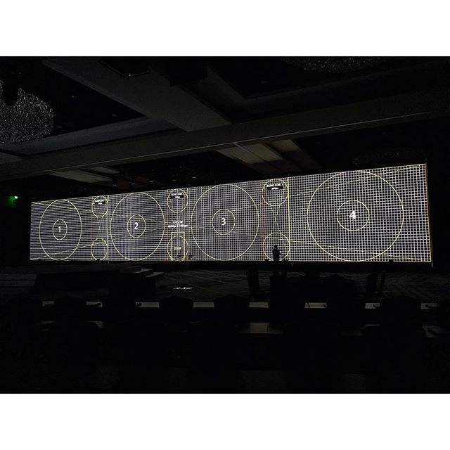 That feeling you get seeing your work on a screen this big. Four laser projectors. Shooting for a 6:1 ratio. 8K footage. You see that dude standing in front of the screen? Yeah, that's big. . . . . #filmmaking #videoproduction #houstonfilm #directordp #houston #texas #cinematography #cinematographer #dp #directorofphotography #shotonred #houstondp #houstoncinematographer #texascinematographer