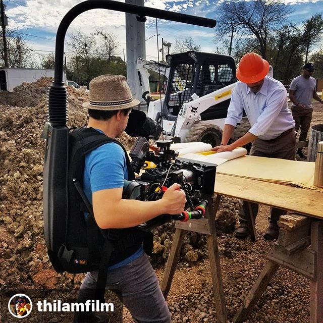 What you don't see in this picture are the 15 other people who are making this commercial a success. All a yous are my heroes. 🙏🏼 #repost thanks for the awesome pic @thilamfilm