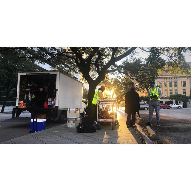 Early morning shoot. #setlife #cinematography #directorofphotography #cinematographer