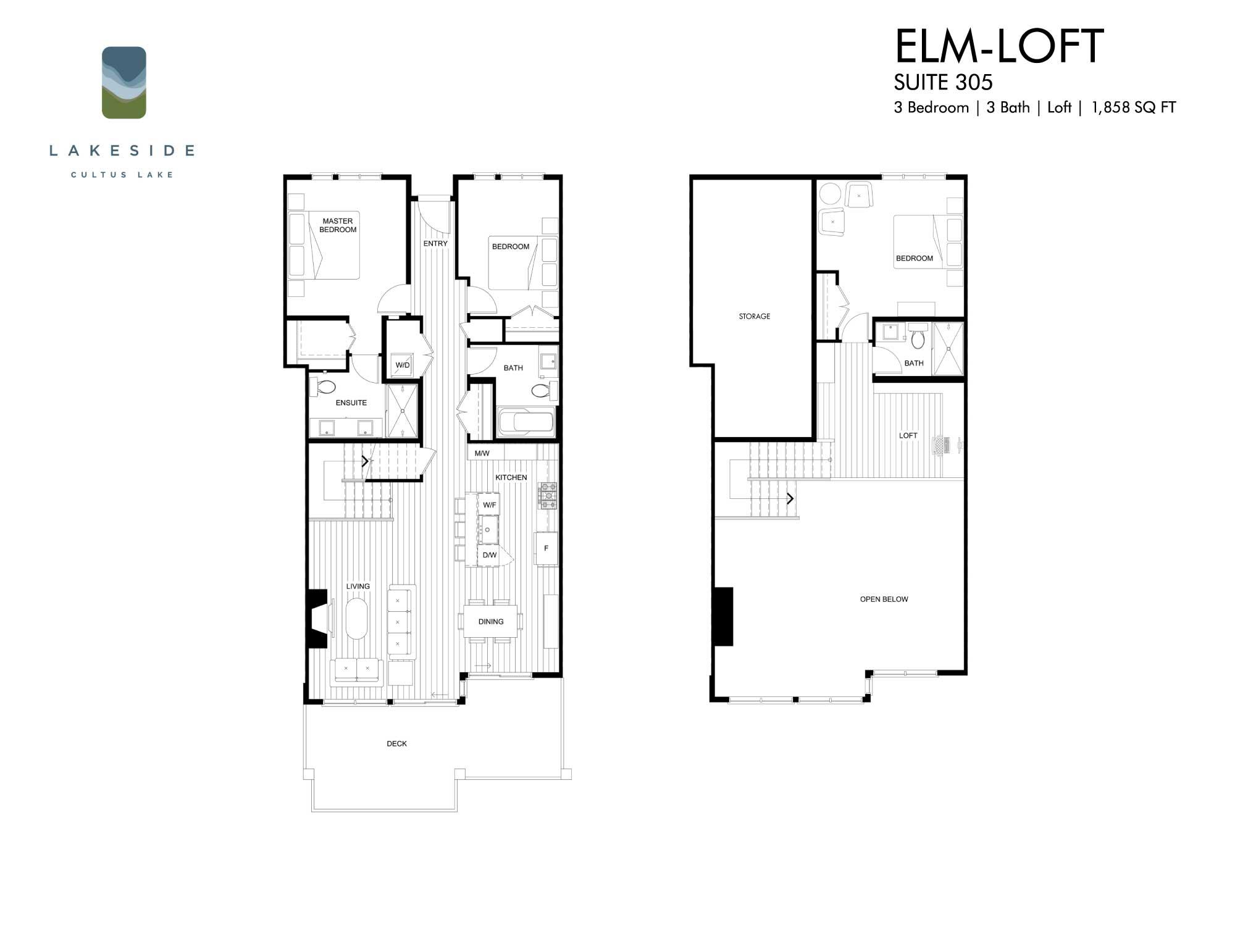 ELM LOFT - $1,695,000