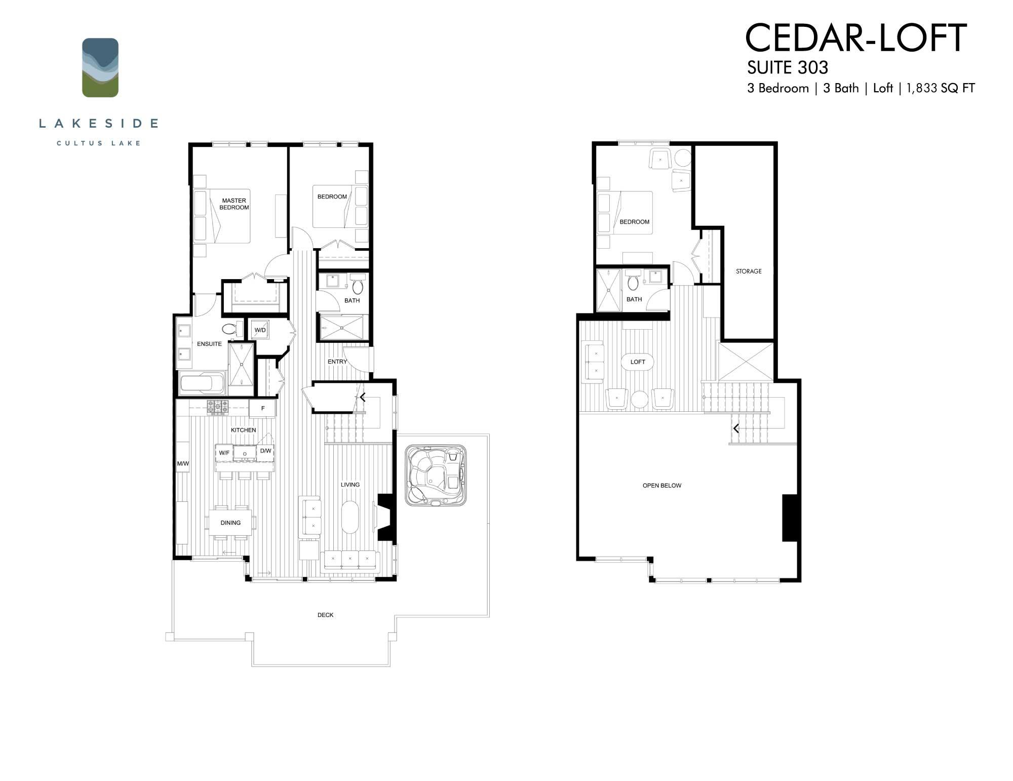 CEDAR LOFT - $1,895,000