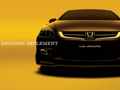 HONDA  Don't just say intelligent, be it.