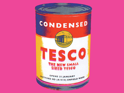 TESCO  Launching the smallest supermarket.