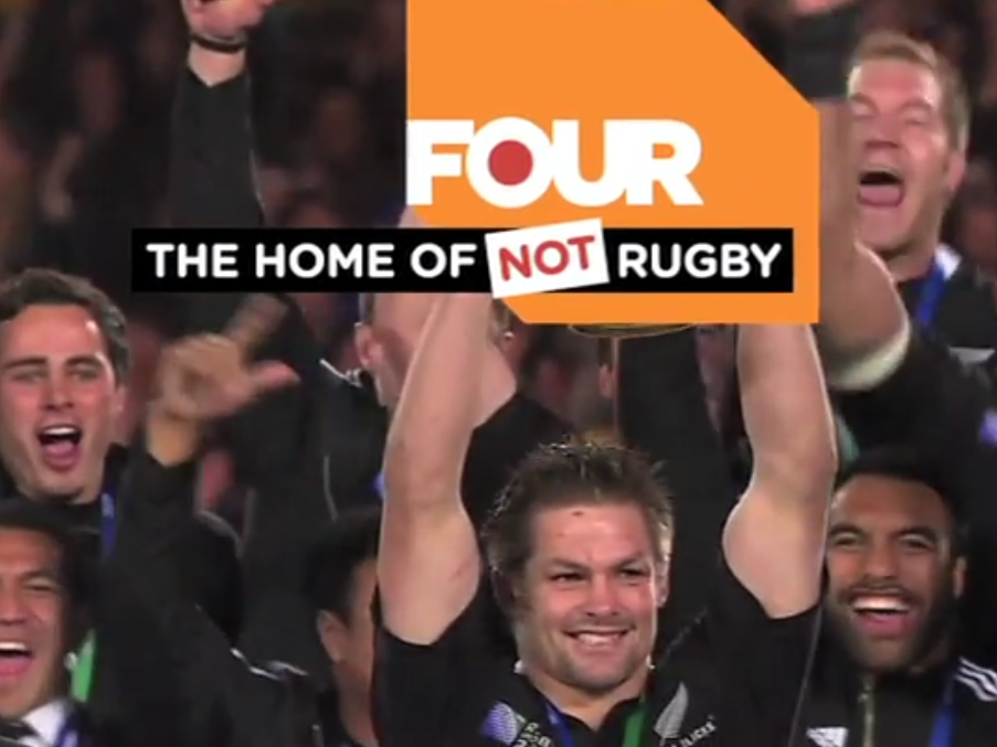 CHANNEL FOUR   Selling not rugby to a rugby mad nation.