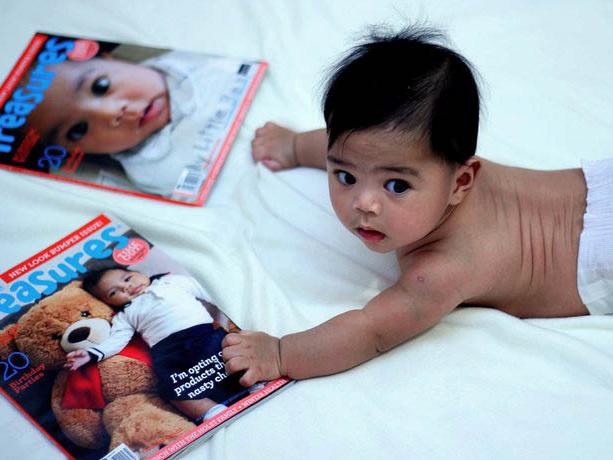 ECOSTORE + LITTLE TREASURES  1 magazine, 3000 cover stars.
