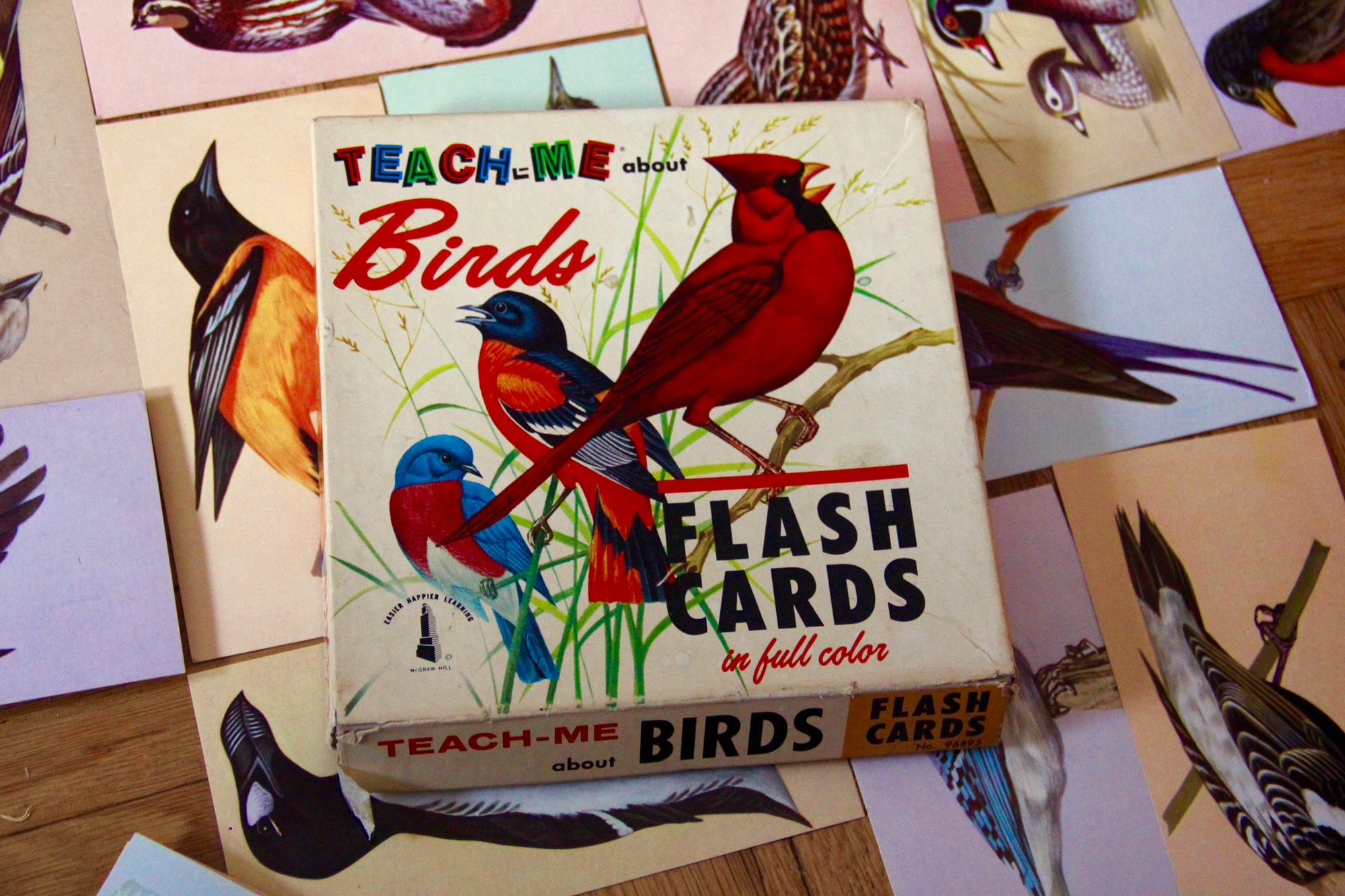 Vintage Flash Card Art DIY